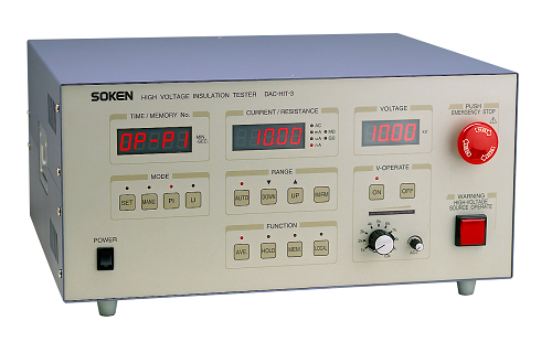 High Voltage Insulating Tester - DAC-HIT-3