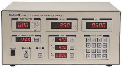 Capacitance and tanδ Measuring Set DAC-ASC-5